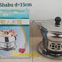 harga Panci Shabu Shabu / Suki Juan Lo / Makanan celup rebus steamboat 15cm Tokopedia.com