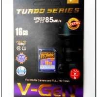 harga MEMORI KAMERA DIGITAL 16 GB CLASS 10 TURBO SERIES |SD CARD VGEN TURBO Tokopedia.com
