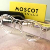 kacamata Moscot miltzen (SUPER PREMIUM QUALITY) Crystal