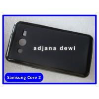 Silikon Case Samsung Galaxy Core 2 Ii / Dual Sim G355h Hitam