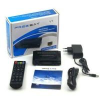 Receiver Parabola Freesat V7 HD MPEG-4 Bisskey, Power Vu, Cccamd, FTA