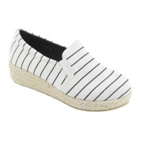 SEPATU SLIP ON SINFUL WOMAN FLAT SHOES 2216-5 PUTIH
