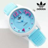 Jam Tangan Wanita / Cewek Adidas. Warna Biru Muda