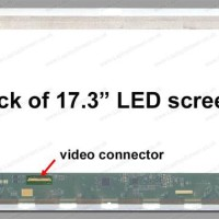Layar LCD LED ASUS ROG G74, G74S, G74SX, G74SW Series