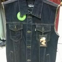 Distro BDG - Rompi jeans Rockface
