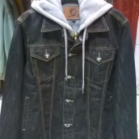 Distro BDG - Jacket Black Jeans Jack ID
