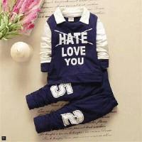 Grosir Pakaian Anak / Setelan Anak Laki Laki / ST HATE LOVE KIDS