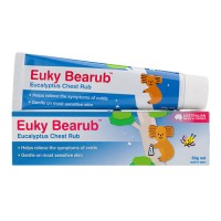 Euky Bearub For Babies Eucalyptus Chest Rub Made In Australia Isi 50g