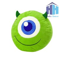 Bantal Monster Inc (Mike Wazowski Plush Pillow)