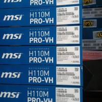 Mainboard MSI H110M Pro VH DDR4 soket 1151 harga tiarap