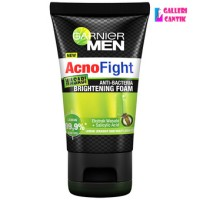 Garnier Men Acno Fight Wasabi ANTI BACTERIA BRIGHTENING FOAM 100 ml