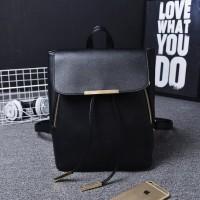 tas hitam backpack long champ kipling kulit hq vintage mewah wanita ck