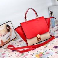 tas tangan hand bag kecil gosh cnk zara mango hitam merah putih wanita