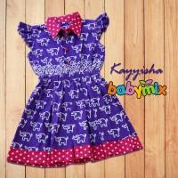 Babymix - Dress Bayi Anak Fashion Baju Anak Perempuan Branded Import