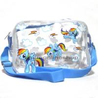 harga Tas Selempang Transparan My Little Pony Biru Tokopedia.com