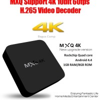 MXQ 4K RK3229 Smart TV Box Android 4.4 1G / 8G KODI AirPlay Miracast