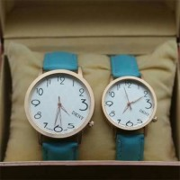 JAM TANGAN DKNY LEATHER NEW ARRIVAL- SOFT BLUE
