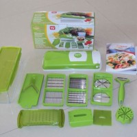 Genius Nicer Dicer Plus Pemotong Serbaguna As Seen On TV