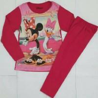 Setelan Piyama Karakter Anak Minnie Mouse - Baju Tidur