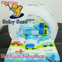 Kasur bayi kelambu lipat/selimut karakter/bantal guling/gendongan