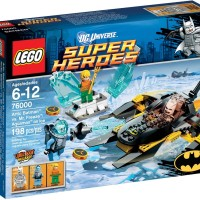 Lego SuperHeroes 76000 Arctic Batman vs. Mr Freeze : Aquaman on Ice