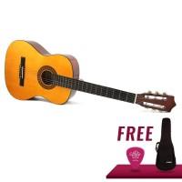 Original Gitar Yamaha c315 with softcase and pick