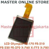 LCD Kamera Olympus FE-170 FE-210 FE-220 FE-270 X-760 X-775 X-785