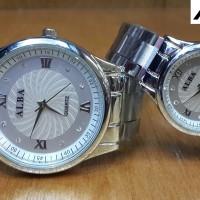 Jam Murah / Jam Branded / Jam Pasangan / Jam Paket / Jam Alba Couple
