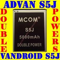Baterai Batrai Batere Batre Advan Vandroid S5J M COM