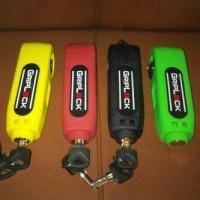 Griplock Pengaman Motor (Kunci Pengaman Motor, Griplock)