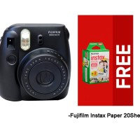 Paket Spesial Fujifilm Instax Mini 8 with Paper 20 Sheets - Black
