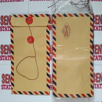 Executive Amplop Coklat Airmail Tali 304