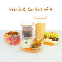 Fresh & Go Set Of 5 / Kotak Makanan