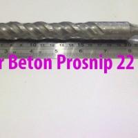 Mata Bor Beton SDS / Colok 22mm Panjang 17.5cm