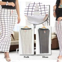 harga maxy skirt span rok pencil span wedges box slit back kotak elegan Tokopedia.com