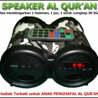 Speaker Digital Alquran dengan Remote Control