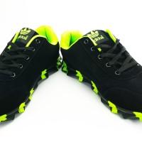 Sepatu Running Sport Casual Adidas Springblade Black Green