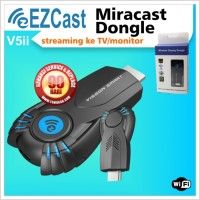 Ezcast Miracast V5ii Dongle Streaming ke TV / Monitor