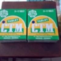 CTM TABLET OBAT ALERGI / BIDURAN / GATAL GATAL