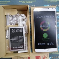 Samsung Galaxy Note 3 White SM-N900 BNOB Old Stock Resmi Samsung SEIN
