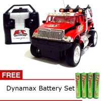 Daymart Toys Remote Control Jeep King Driver-Red