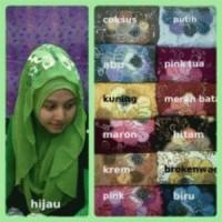 Hijab / Jilbab Hoodie Sosor Lukis