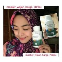 Obat Jerawat / Masker Herbal / Obat Herbal / Masker Wajah / Masker Spirulina