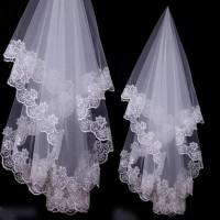 Veil slayer akad nikah bordir gaun pengantin wedding dress kerudung