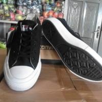 Sepatu converse mono pendek black grade ori import vietnam