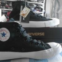 Sepatu converse mono black tinggi grade ori import