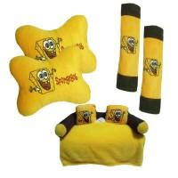 Bantal Mobil 3 In 1 Spongebob