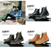 Sepatu boot si boy Almost brand hand made original
