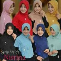 Jilbab Syria Meida Nisrina / Bergo Syria Meida Nisrina