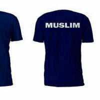 T-shirt / Kaos Pria / Kaos Oblong / Kaos Islami / Kaos Turn Back Crime